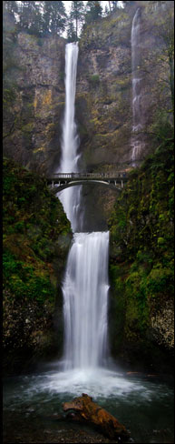 Multnomah Falls, Columbia Gorge Waterfalls.