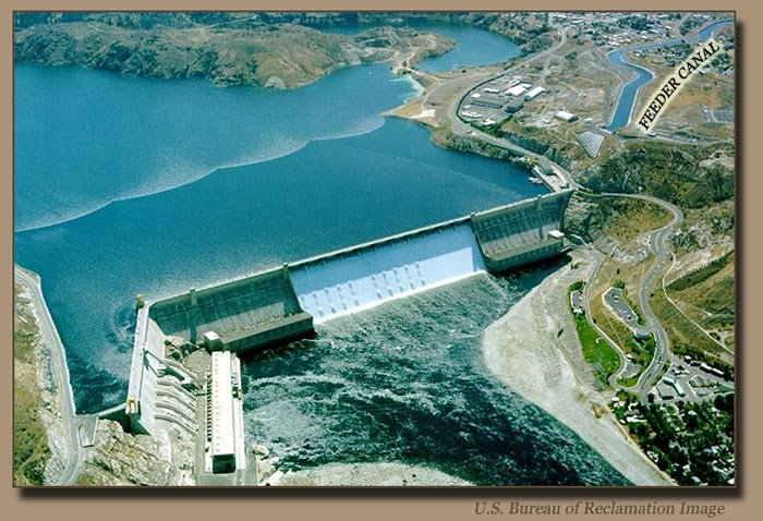 Grand Coulee Dam and Feeder Canal