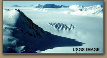 Glacial Ice USGS Image.