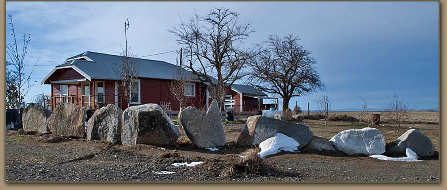 Many Ice Age Floods erratics have been removed from Umatilla Basin fields.